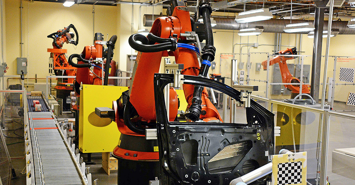 Robotics in manufacturing