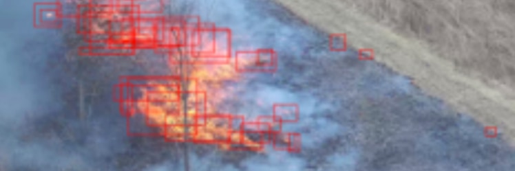 Ziyang Tang, a graduate researcher in Purdue Polytechnic's Department of Computer and Information Technology, and his research team have developed new methods to help computers process images from unmanned aerial systems, recognizing irregularly sized objects like wildfires more quickly and accurately.