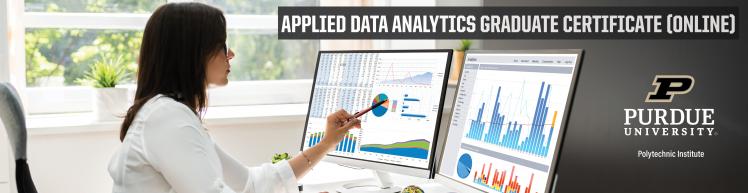 Applied Data Analytics Graduate Certificate | 100% Online