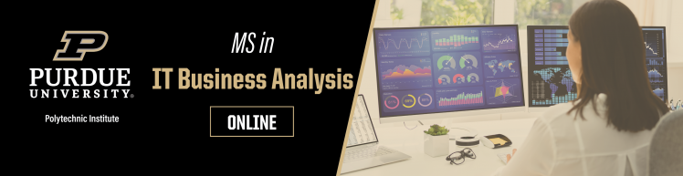 MS in IT Business Analysis | Purdue Online