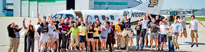 Aviation Management degree at Purdue University College of Technology