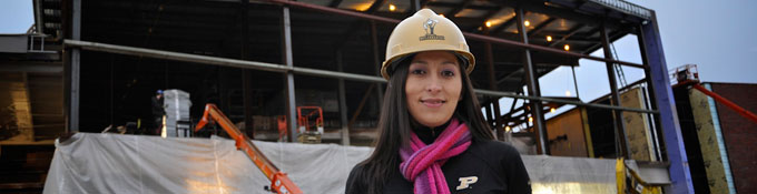 Students in Building Construction Management gain experience on active job sites