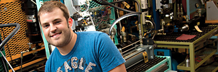 Meet Chad Kingsolver, mechanical engineering technology major