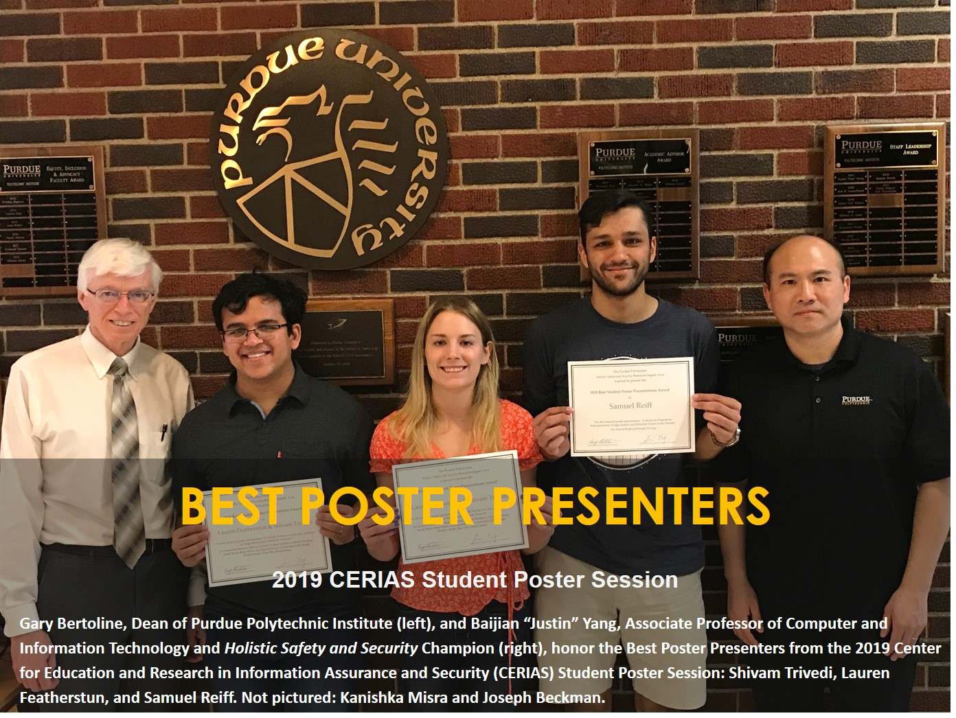 Best poster winner photo