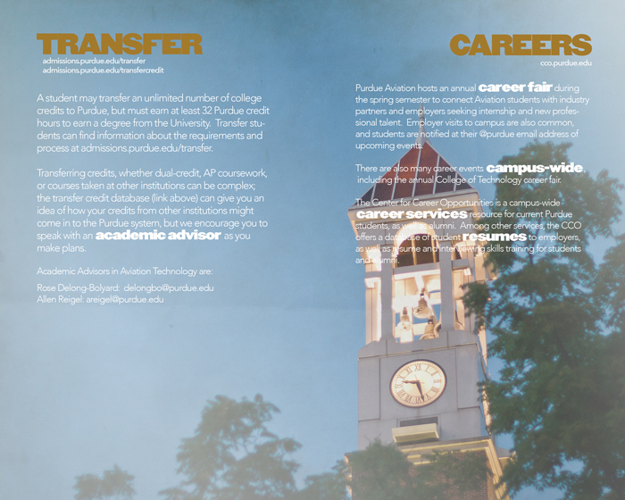 Transfer and Careers