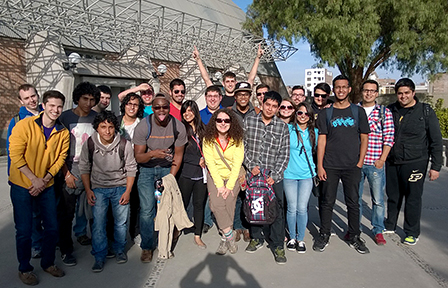 Purdue and Peru students during Maymester 2014