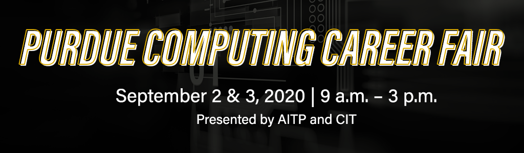 Purdue Computing Career Fair 2020