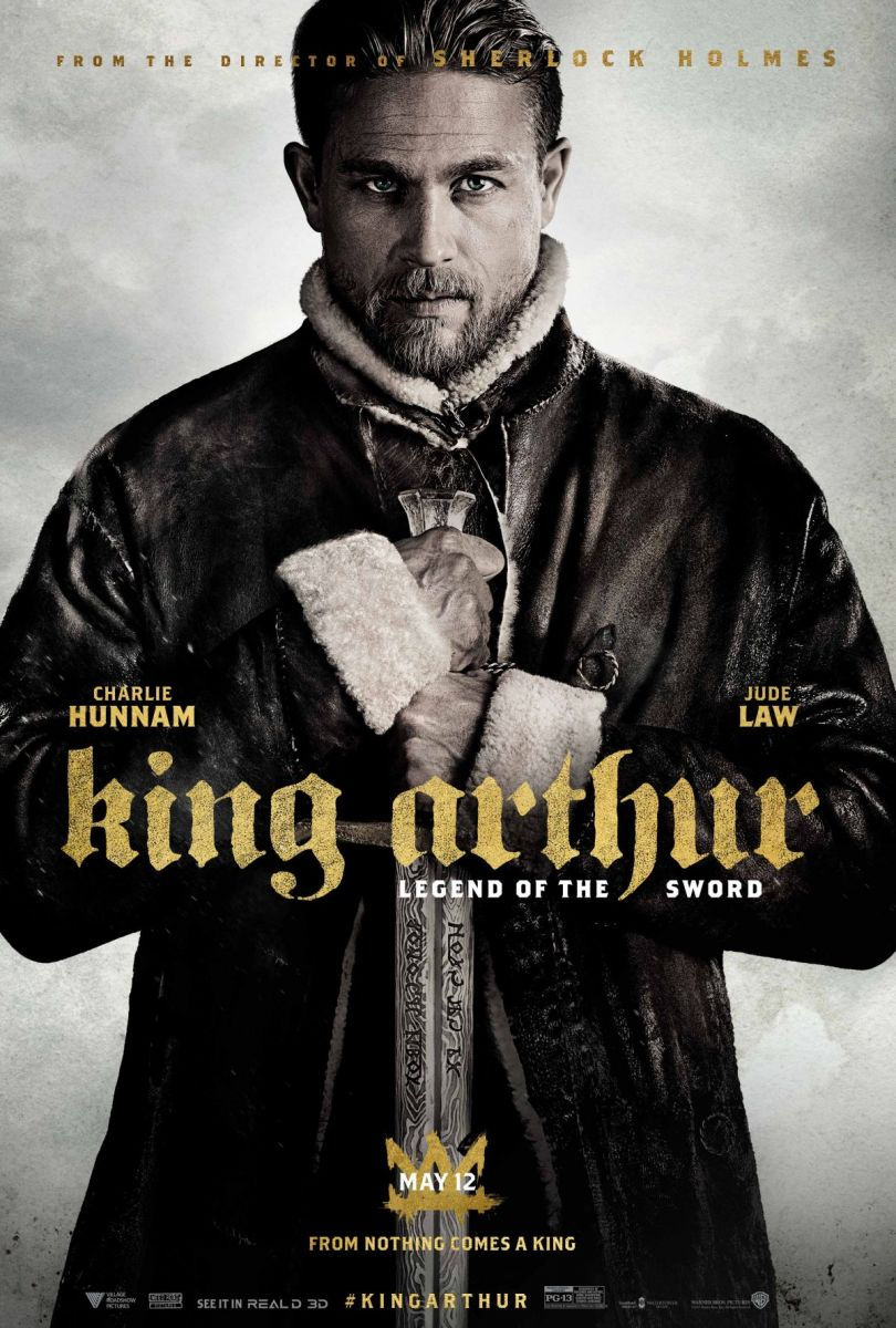 Andrew Kennedy's work will be on-screen again in 'King Arthur: Legend of the Sword,' which opens May 12, 2017.