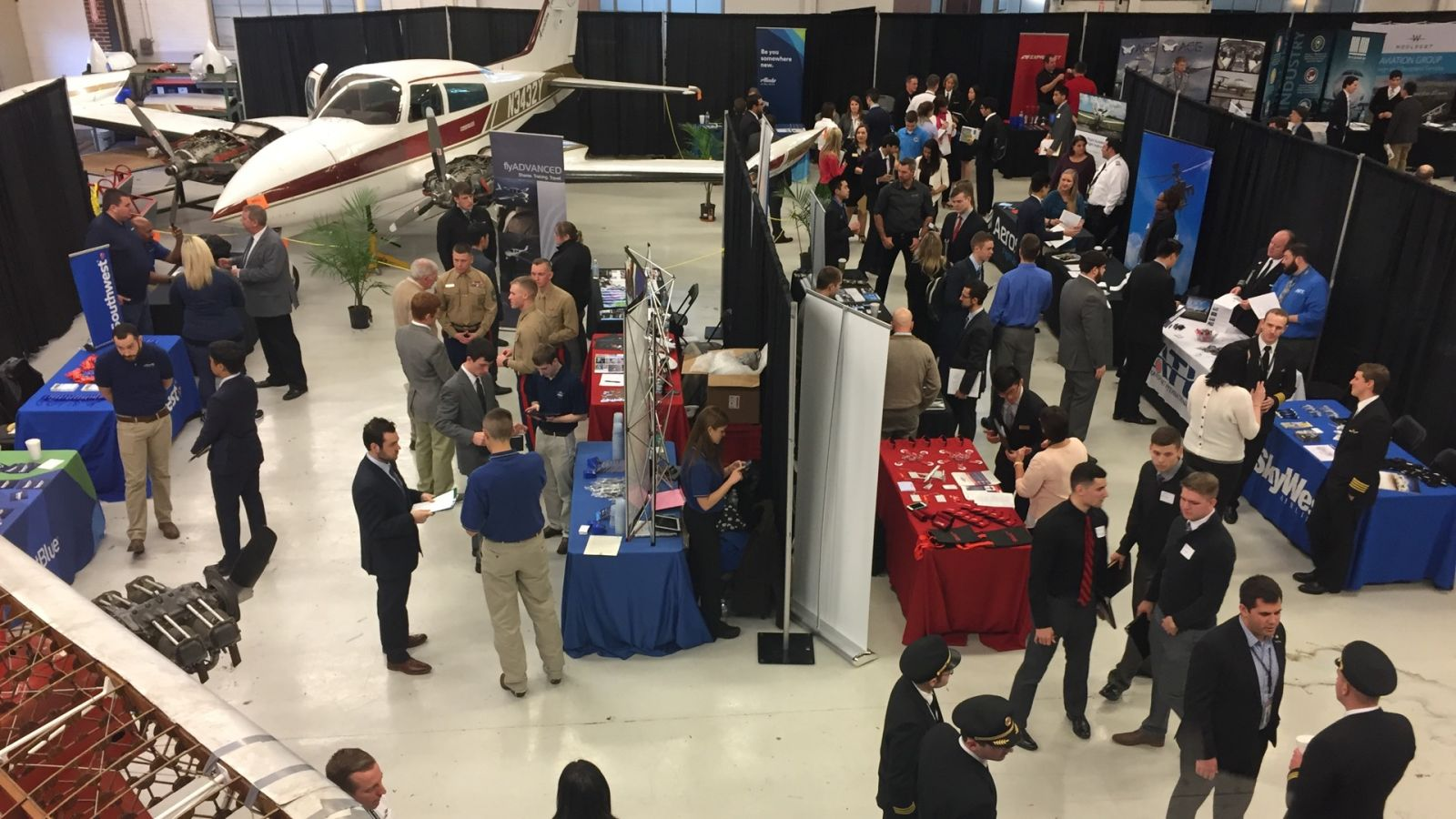 Aviation and Transportation Technology Career Fair