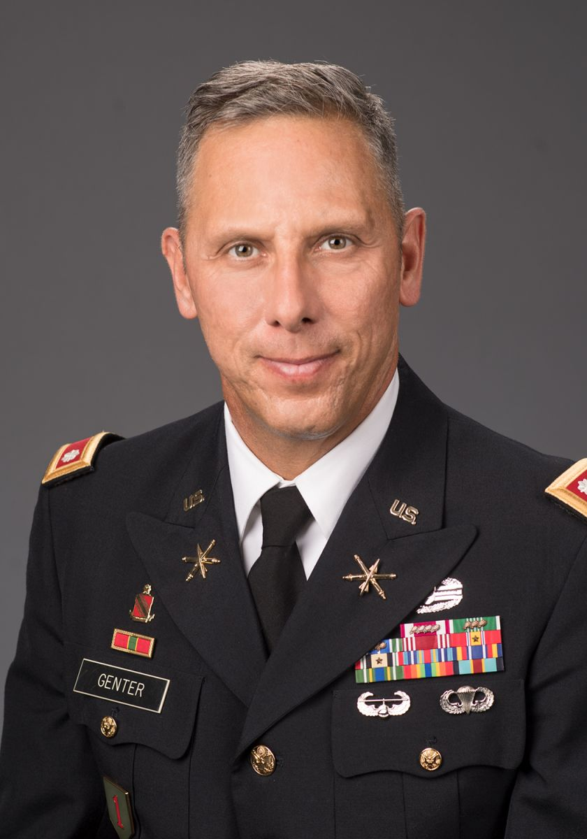 Lieutenant Colonel Thomas M. Genter