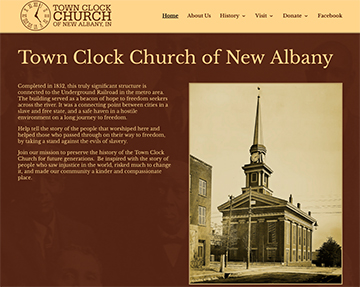 Town Clock Church Sceen Shot