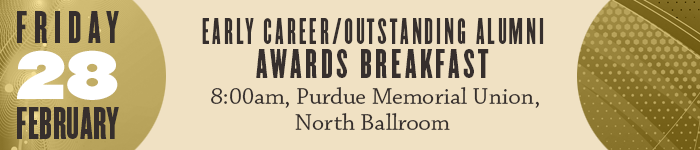 Early Career/ Outstanding Alumni Awards Breakfast