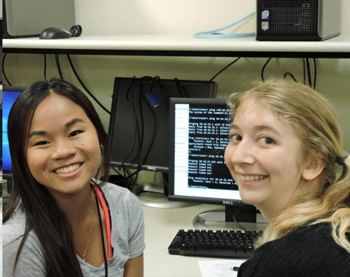 Students at the 2016 Cybersecurity Camp