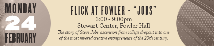 Flick at Fowler - Jobs the movie