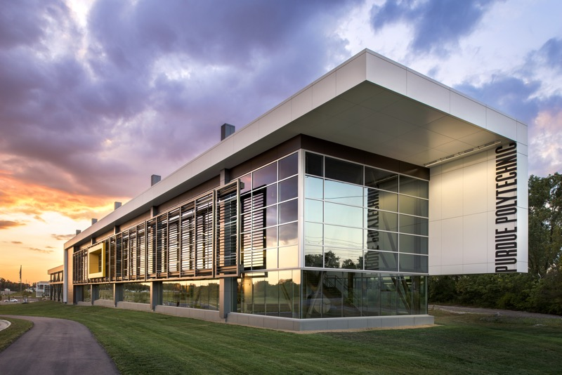 Flagship East, home of Purdue Polytechnic Anderson (Photo: Daniel Showalter Photography)