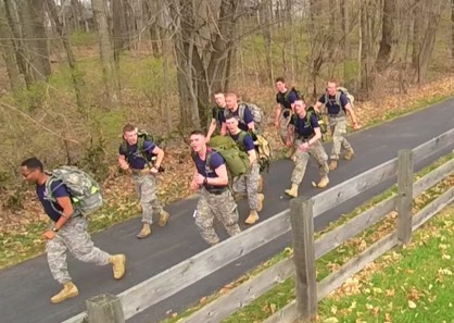 Competitors ranged from all branches (USAF, USMC, USA all represented), units, and schools. Some competed as individual, and others competed as teams.