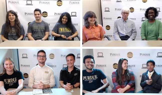 "Panelists during several ""Polytechnic Live Q&A"" broadcasts on YouTube"