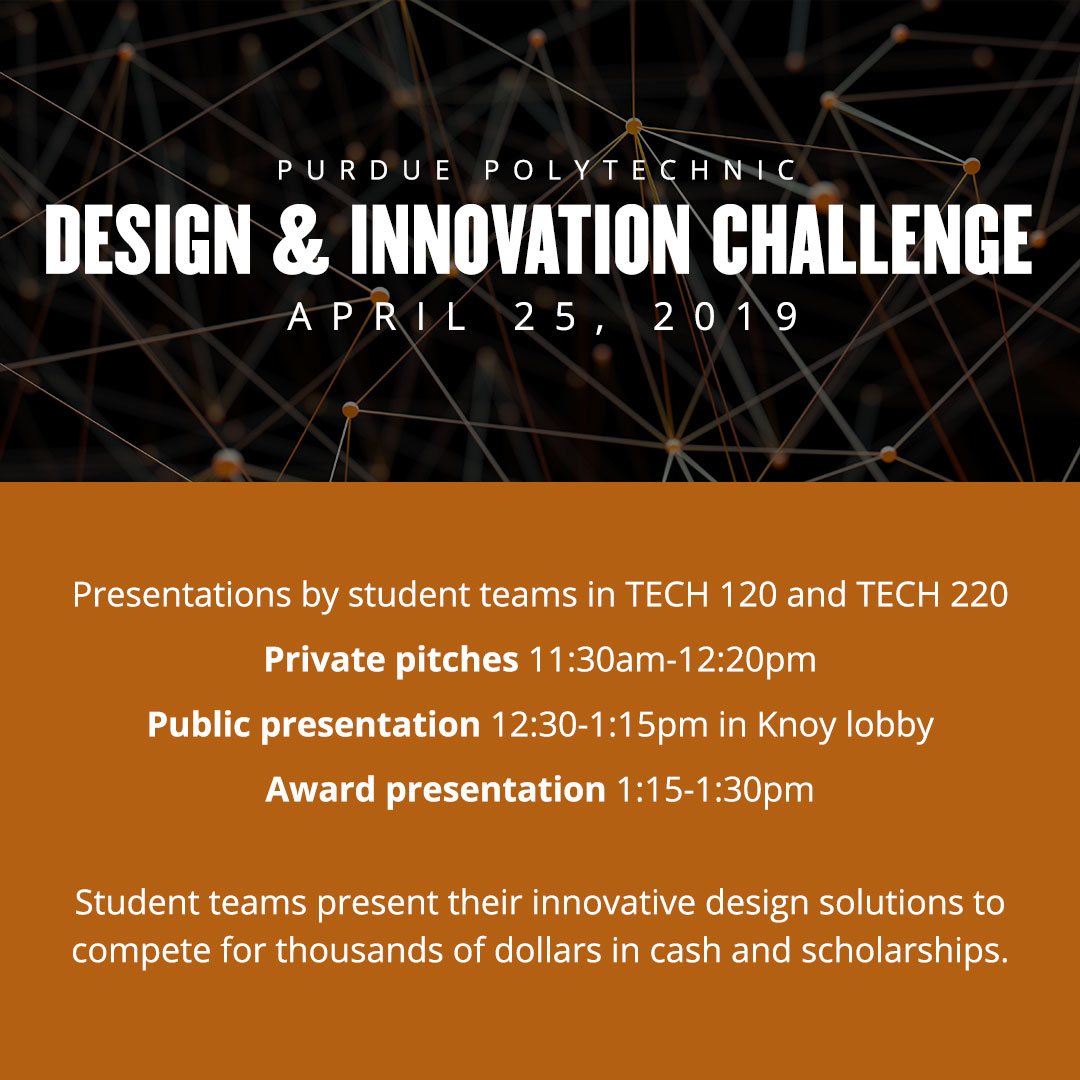 Purdue Polytechnic Design & Innovation Challenge