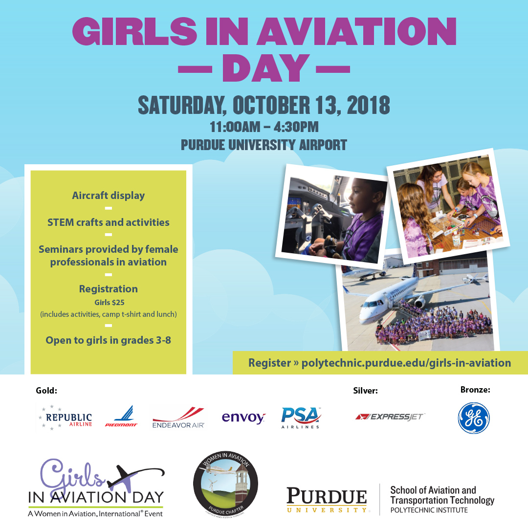 Girls in Aviation Day, October 13, 2018