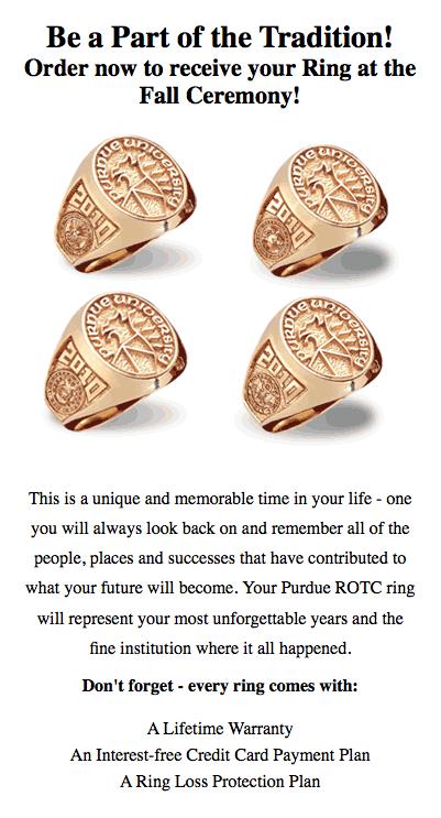 Class Ring - Purdue Polytechnic Institute