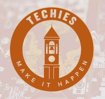 TECHIES MAKE IT HAPPEN graphic