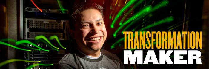 Mendez featured as one of five Purdue 'transformation makers'