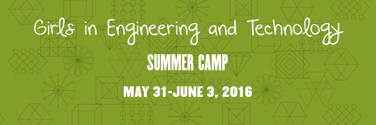 Girls in Engineering and Technology Summer Camp - Columbus promo image