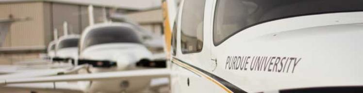 Professional Flight training fleet at the Purdue airport