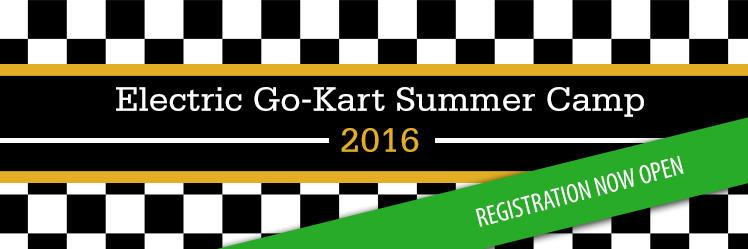 Electric go-kart summer camp 2016