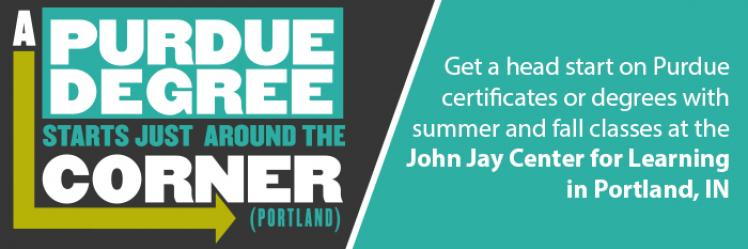 Summer courses in Portland, IN