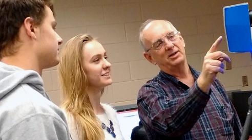 Wes Crawford teaching