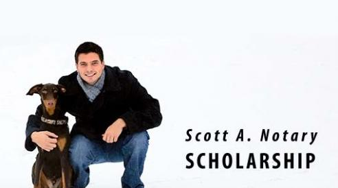 Scott A. Notary Memorial Scholarship