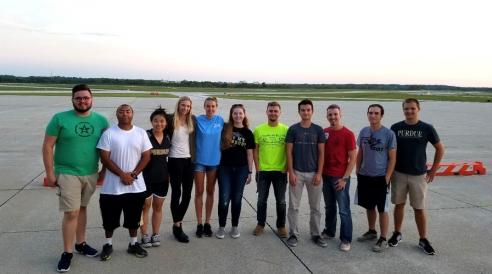 Students participating in the August SWAT exercise represented included Melissa Marks, Yuwei He, Elizabeth Cook, Peter Ropp, Raquiem Soto Moore, Katherine Minarik, Justin Ordonez, and Jacob Hemmerlein.