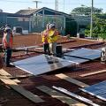 Nicaragua solar panel project