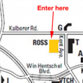 Map to Ross Enterprise Center