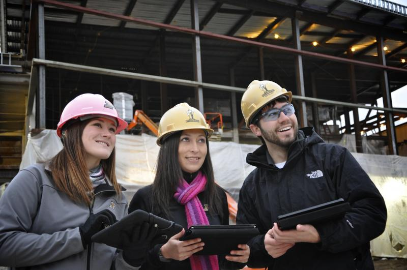 BCM students gain experience by visiting active job sites